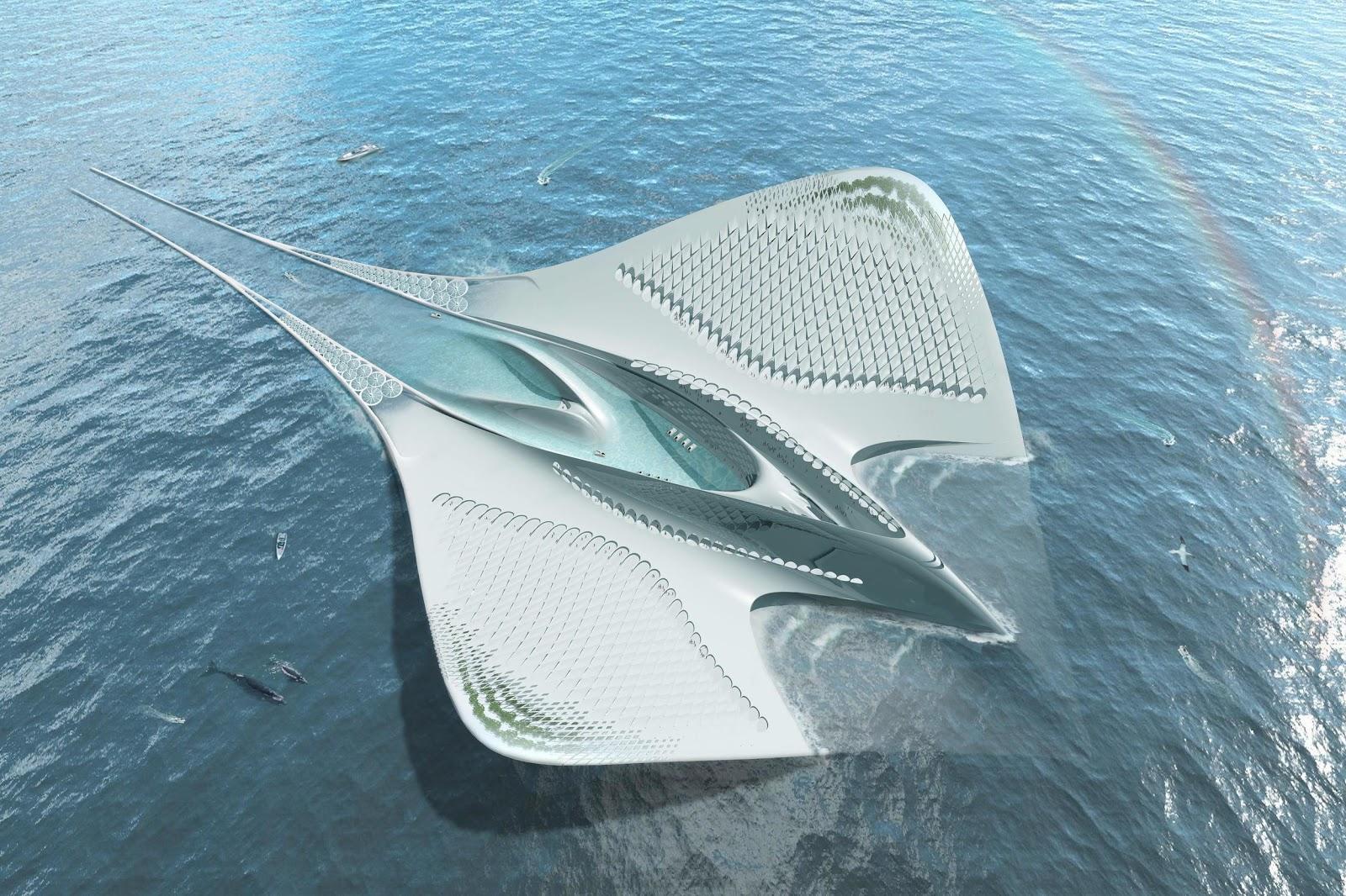 Exposition du concours architecturale de la fondation Jacques Rougerie