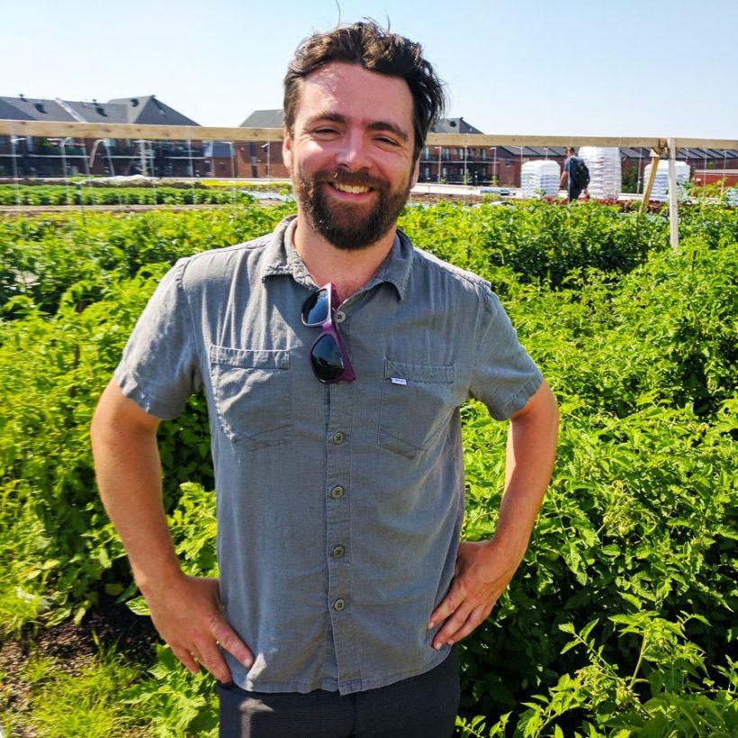 Antoine Trottier: Un toit vert, un toit pour la vie
