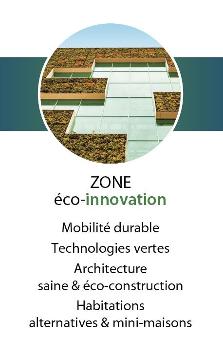 Découvrez la zone éco-innovation
